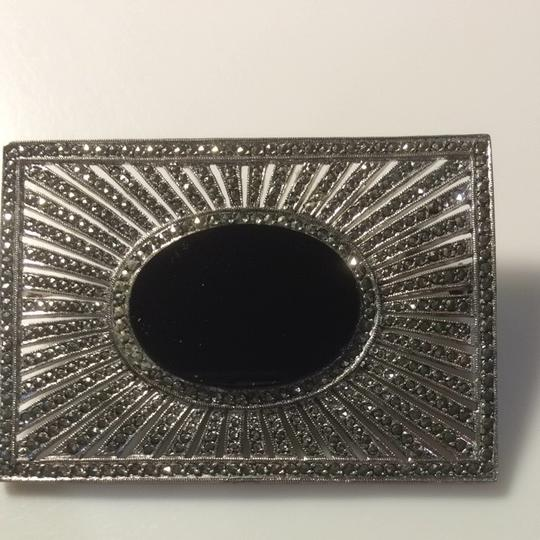 Other Black And Silver Pin