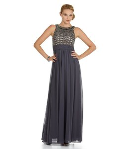 JS Collections Beaded Gown Empire Waist Dress