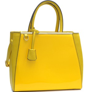 Other Classic Large Handbags The Treasured Hippie Vintage Satchel in Yellow