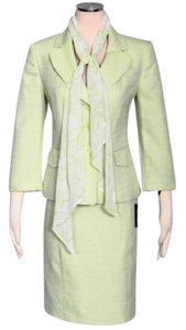 Le Suit Le Suit New Pale Crabapple Textured 2PC Skirt Suit 12