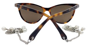 Chanel Cat Eye Chanel Tortoise Chain Sunglasses 5341-H 58