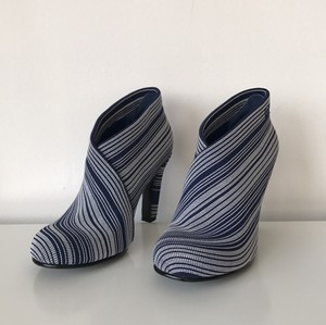 United Nude Blue and white stripes Boots
