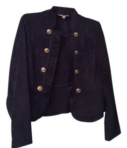 Kate Rosy Dress Jacket Button Down Shirt Navy blue