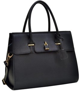 Other Classic Large Handbags The Treasured Hippie Vintage Satchel in Black