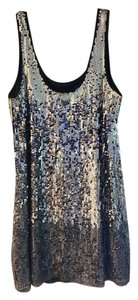 Express Sequin Cocktail Party Dress