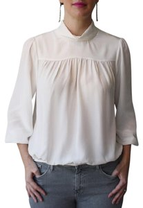 Joie Silk Top Ivory