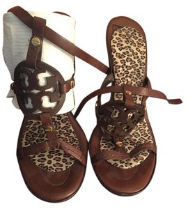 Tory Burch Strappy brown Sandals