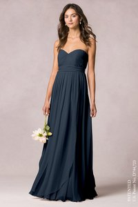 Jenny Yoo Navy Mira Dress