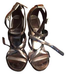 Tory Burch Strappy silver Sandals