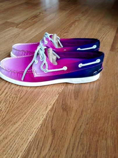 Sperry Purple Ombr Flats