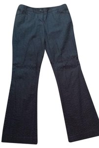 INC International Concepts Straight Pants Black