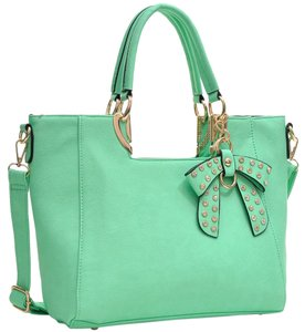 Other Classic Large Handbags The Treasured Hippie Vintage Satchel in Green