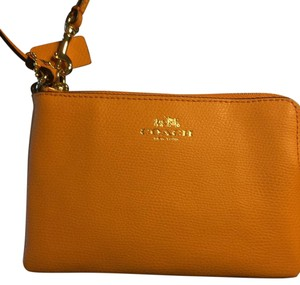 Coach wristlet/cosmetics bag