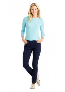 J.McLaughlin Polished Jeans Straight Pants Navy