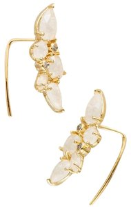 Anthropologie NWT Clustered Crystal Crawlers