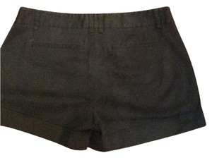 BCBGMAXAZRIA Cuffed Shorts Black