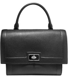 Givenchy Leather Miranda Kerr Satchel in Black