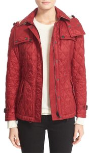 Burberry Crimson Red Jacket