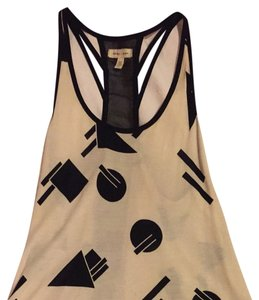 Urban Outfitters Top Cream & Black