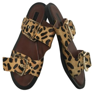 Topshop leopard hair Sandals