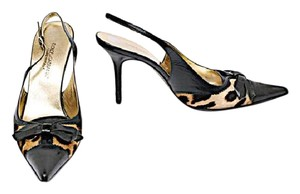 Dolce&Gabbana Dolce Gabbana Leopard Black, Gold & Brown Pumps