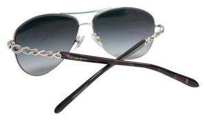 Tiffany & Co. TIFFANY & Co. TF Aviator Silver Rhinestone Grey Gradient sunglasses