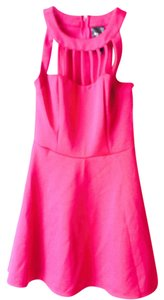 Trixxi short dress Pink on Tradesy