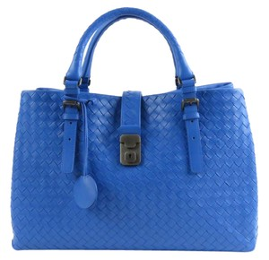 Bottega Veneta Roma Tote in BLUETTE