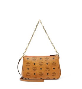 MCM Leather Cross Body Bag