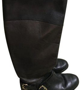 Ivanka Trump black and brown Boots