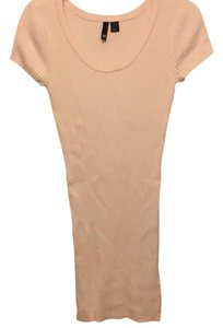 Divided by H&M short dress soft pink on Tradesy