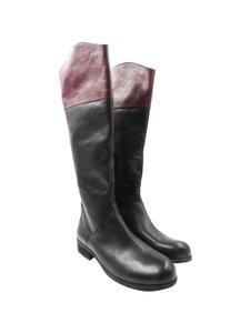 BCBGeneration Riding Black Plum Boots