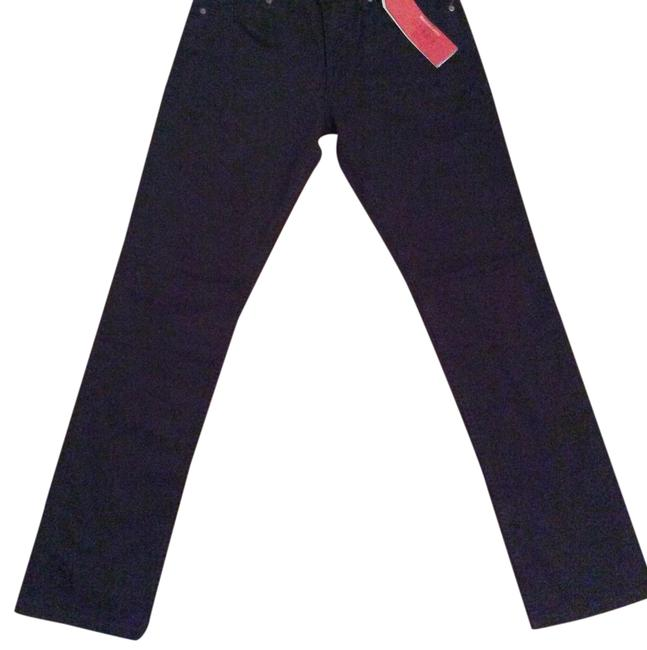 Item - Black Dark Rinse 511 Slim Relaxed Fit Jeans Size 31 (6, M)