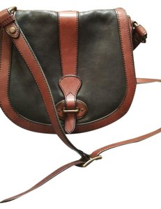 Fossil Leather Dust Cross Body Bag