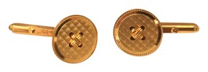 Dior Vintage Button Cufflinks