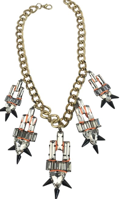 Item - Crystal Multi Streetwear and Punk Vibes Necklace