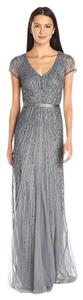 Adrianna Papell Beading Embellished Dress