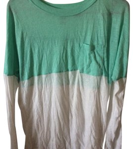 Victoria's Secret T Shirt White/teal