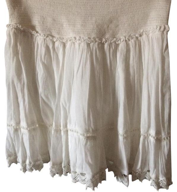 No bondries Mini Skirt White Image 0