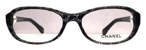 Chanel CH 3224 H 1125 - BEAUTIFUL BLACK LACE CHANEL GLASSES - FREE 3 DAY SHIPPING
