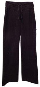 Lululemon Fleece Drawstring Athletic Pants Black