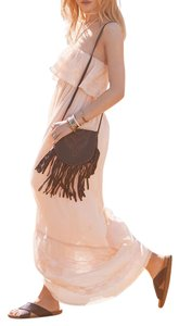Blush Maxi Dress by Candela Flapper Cocktail Chic Classic Multi Party Holiday Prom Bohemian Festival Lace Eyelet