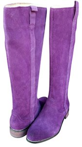 Very Volatile Purple Boots