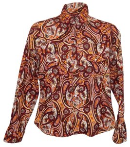 Patagonia Western Organic Cotton Floral Button Down Shirt Multi Colored