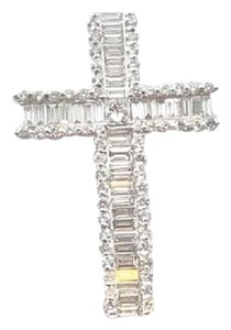 jack j Diamond cross necklace