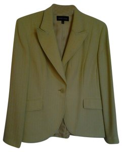 Isabel & Nina Lined Cream Blazer
