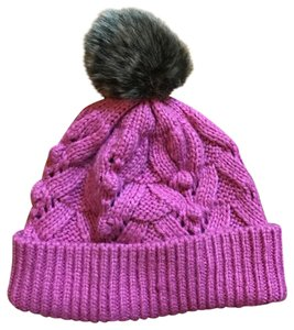 Gap Cable Knit Pink Winter Beanie