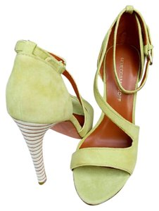 Rebecca Minkoff Bright Yellow Sandals