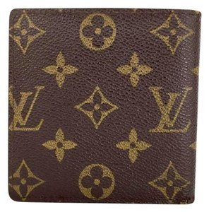 Louis Vuitton Louis Vuitton Unisex LV Monogram Mens Portefeuille Marco Bifold Wallet