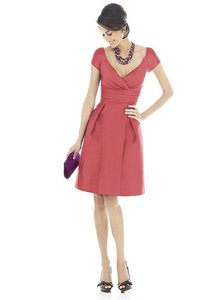 Alfred Sung Candy Coral D500 Dress